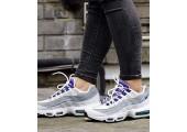 Кроссовки Nike Air Max 95 QS White/Court Purple - Фото 3