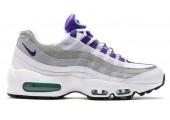 Кроссовки Nike Air Max 95 QS White/Court Purple - Фото 1