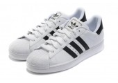 Кроссовки Adidas Superstar II White/Black - Фото 3