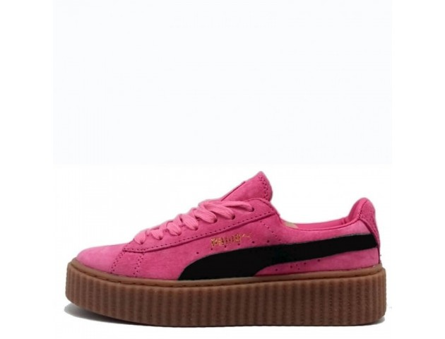 Кроссовки Puma Suede Creeper x Rihanna Crimson/Black