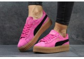 Кроссовки Puma Suede Creeper x Rihanna Crimson/Black - Фото 3