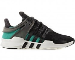 Кроссовки Adidas EQT Running Support x Consortium Black/Green