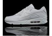 Кроссовки Nike Air Max 90 Premium White/Metallic Silver - Фото 3