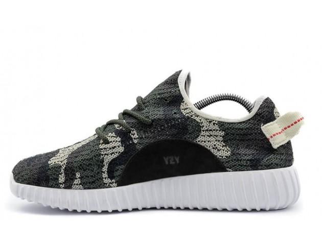 Кроссовки Adidas Yeezy Boost 350 Camo Green
