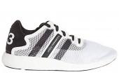 Кроссовки Adidas Y-3 Yohji Boost  Qasa High White - Фото 2