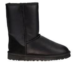UGG Classic Short Leather Black II