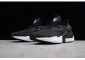 Кроссовки Nike Air Huarache Drift Black/Contrast White - Фото 8