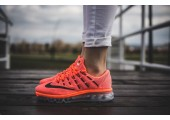 Кроссовки Nike Air Max 2016 Bright Crimson - Фото 2