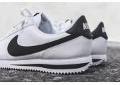 Кроссовки Nike Classic Cortez Leather White/Black - Фото 4