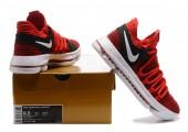 Кроссовки Nike KD X Red Velvet - Фото 8