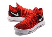Кроссовки Nike KD X Red Velvet - Фото 6