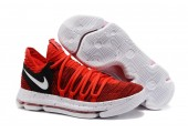 Кроссовки Nike KD X Red Velvet - Фото 7