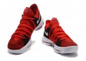 Кроссовки Nike KD X Red Velvet - Фото 4