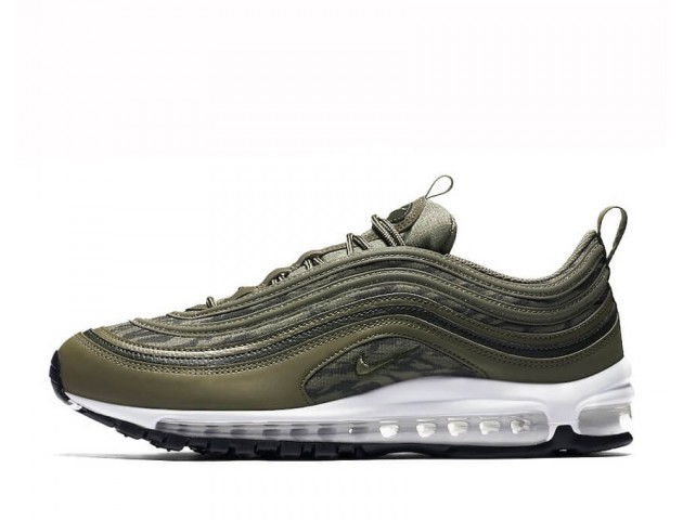 Кроссовки Nike Air Max 97 Tiger Camo Olive Pack