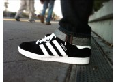 Кроссовки Adidas Gazelle Black/White - Фото 6