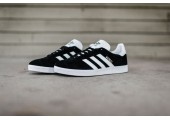 Кроссовки Adidas Gazelle Black/White - Фото 3