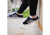 Кроссовки Adidas Gazelle Black/White - Фото 7