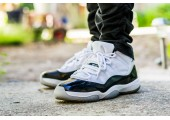 Баскетбольные кроссовки Nike Air Jordan XI Black-White - Фото 2
