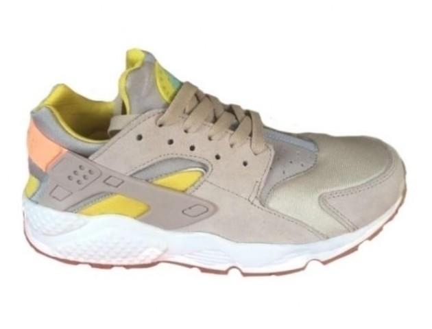 Кроссовки Nike Air Huarache Cream/Yellow