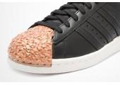 Кроссовки Adidas Superstar 80s Metal Toe Black - Фото 7