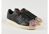Кроссовки Adidas Superstar 80s Metal Toe Black - Фото 5