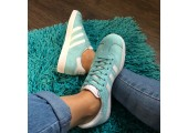 Кроссовки Adidas Gazelle Light Blue - Фото 5