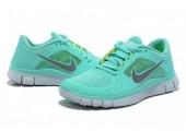 Кроссовки Nike Free Run Plus 3 Mint - Фото 5
