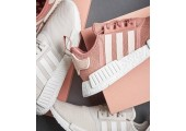 Кроссовки Adidas NMD Runner Pink/White - Фото 4