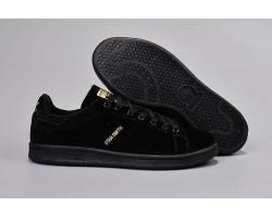 Кроссовки Adidas Stan Smith Suede Black