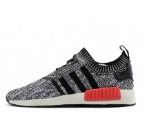 Кроссовки Adidas NMD Runner Grey/Black/Red