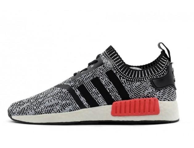 Кроссовки Adidas NMD Runner Grey/Black/Red