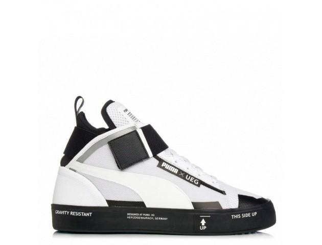 Кроссовки Puma x UEG Court Play White/Black