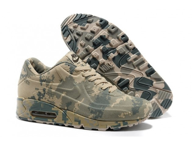 Кроссовки Nike Air Max 90 VT Light Camouflage Military