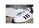 Кроссовки Adidas Superstar 80s White/Black - Фото 3