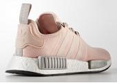 Кроссовки Adidas NMD R1 Pink/Grey - Фото 2