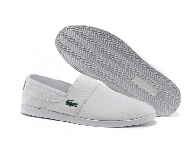 Слипоны Lacoste Slip-On Gazon Sport White