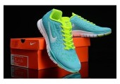 Кроссовки NIke Free Run TR Green/Mint - Фото 2