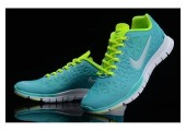 Кроссовки NIke Free Run TR Green/Mint - Фото 3