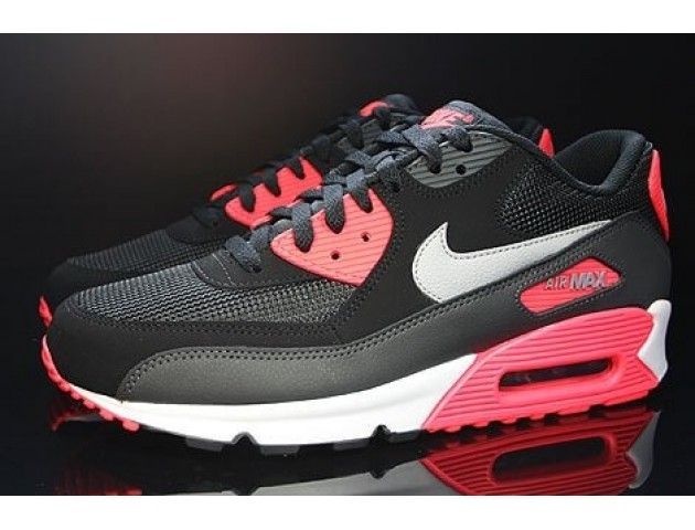 Кроссовки Nike Air Max 90 Black/Infrared