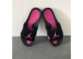 Шлепанцы Air Jordan Hydro Black/Pink - Фото 8
