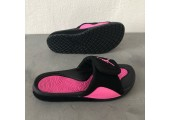 Шлепанцы Air Jordan Hydro Black/Pink - Фото 10