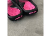 Шлепанцы Air Jordan Hydro Black/Pink - Фото 5
