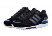 Зимние кроссовки Adidas ZX 750 Black/Blue С МЕХОМ - Фото 3