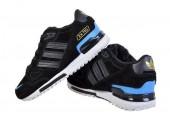 Зимние кроссовки Adidas ZX 750 Black/Blue С МЕХОМ - Фото 2
