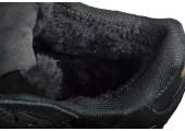Зимние кроссовки Adidas ZX 750 Black/Blue С МЕХОМ - Фото 4