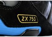 Зимние кроссовки Adidas ZX 750 Black/Blue С МЕХОМ - Фото 5