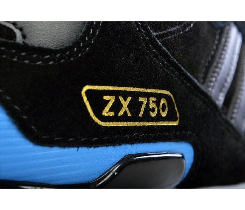 Adidas ZX 750 rot blau 42 23
