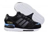Зимние кроссовки Adidas ZX 750 Black/Blue С МЕХОМ - Фото 1