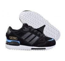 Зимние кроссовки Adidas ZX 750 Black/Blue С МЕХОМ