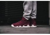 Кроссовки Nike Air More Uptempo Bordeaux - Фото 10
